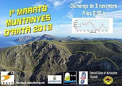 I Marató Muntanyes d'Artà 2013